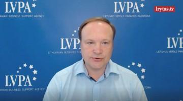 Lietuvos verslo paramos agentūros (LVPA) Investicijų valdymo tarnybos direktorės pavaduotojas Arūnas Burinskas