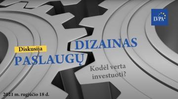 Diskusija: Paslaugų dizainas: kodėl verta investuoti?