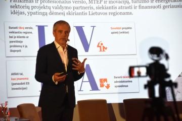 LVPA projektų vystymo ir vertinimo skyriaus patarėjas Mantas Nocius Mantas Nocius