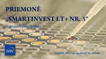 "Registracija į mokymus ""SmartInvest LT+"""