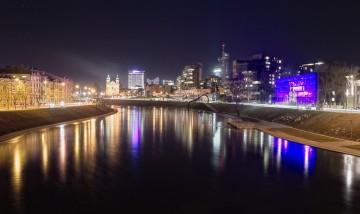 Vilnius naktį. Gatvių apšvietimo modernizavimas