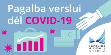 Informacija verslui dėl Covid 19