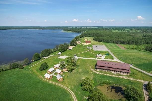 Paršežerio ežero pakrantė Varnių regioniniame parke, Šilalės r.