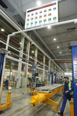 """Termoizoliacinių kėbulų gamybos įmonė UAB """"Schmitz Cargobull Baltic"""" Panevėžyje"""