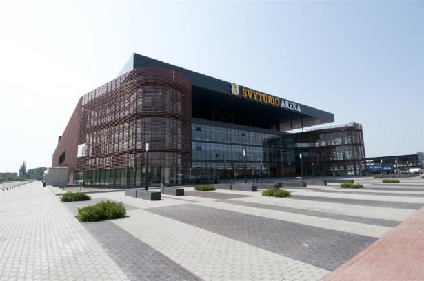 """""""Švyturio"""" arena Klaipėdoje"""