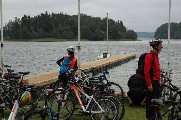 Dviračių žygis palei Platelių ežerą 2014-07-12