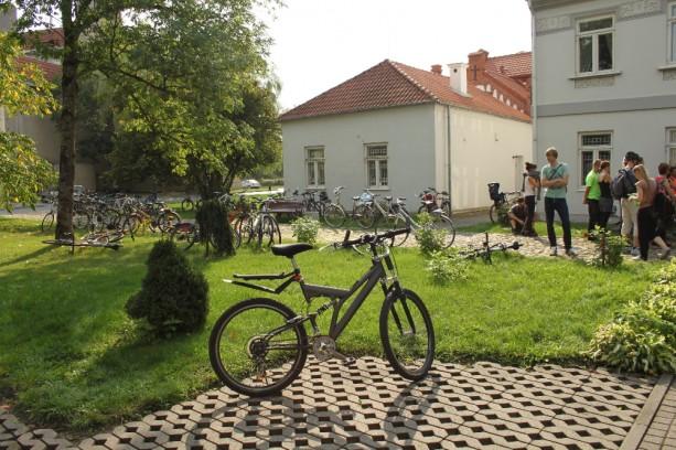 Dviračių žygis Mažojoje Lietuvoje ir Žemaitijoje 2014-09-13