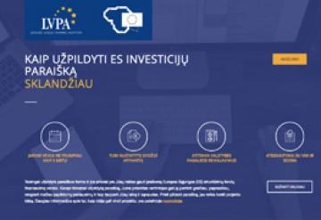 Kaip užpildyti ES investicijų paraišką